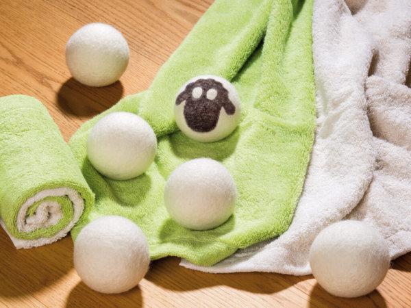 Trocknerbälle, Dryer Balls 6 Stück