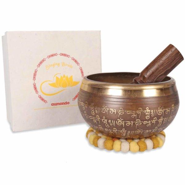 Tibetische Klangschale Set