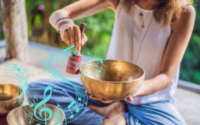 Musiktherapie mit Klangschalen – So funktioniert's