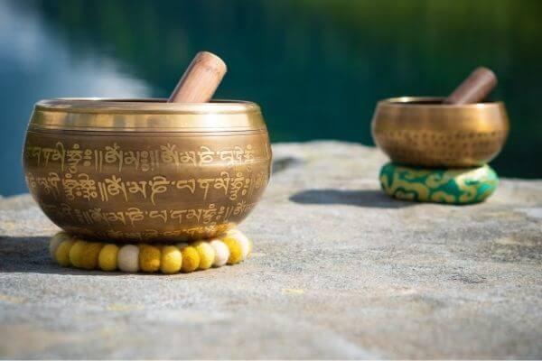 Tibetische Klangschalen Klangschale